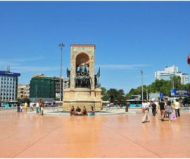 Taksim-monuments